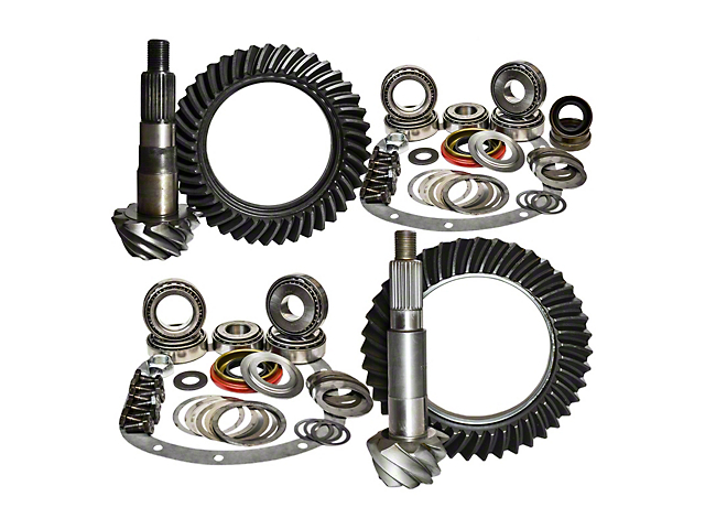 Nitro Gear & Axle Dana 30 Front Axle/44 Rear Axle Ring Gear and Pinion Kit - 4.88 Gears (97-06 Jeep Wrangler TJ)