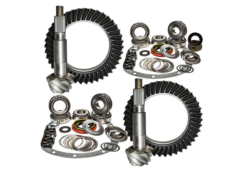 Nitro Gear & Axle Dana 44 Front Axle/44 Rear Axle Ring Gear and Pinion Kit - 5.13 Gears (03-06 Jeep Wrangler TJ Rubicon)