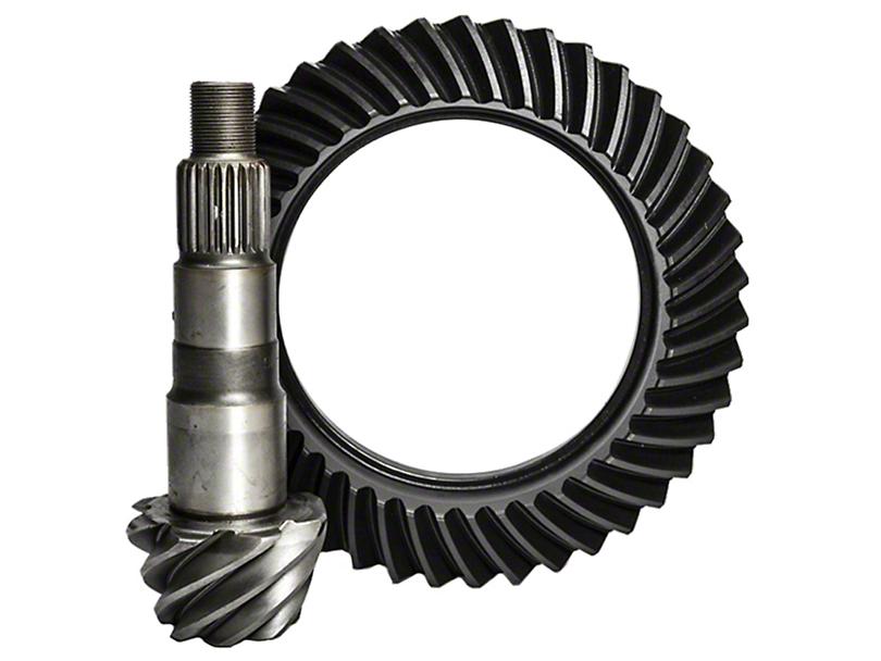 Nitro Gear & Axle Dana 44 Front Axle Ring and Pinion Gear Kit; 4.56 Gear Ratio (07-18 Jeep Wrangler JK Rubicon)