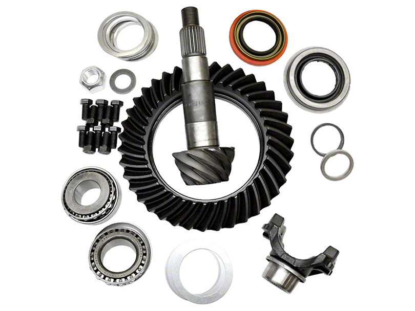 Nitro Gear & Axle Dana 44 Axle Ring and Big Pinion Gear Kit; 4.88 Gear Ratio (97-06 Jeep Wrangler TJ)