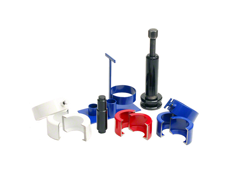 Nitro Gear & Axle Differential Carrier Bearing Removal Tool w/ Small & Large Clamshells (87-18 Jeep Wrangler YJ, TJ & JK)