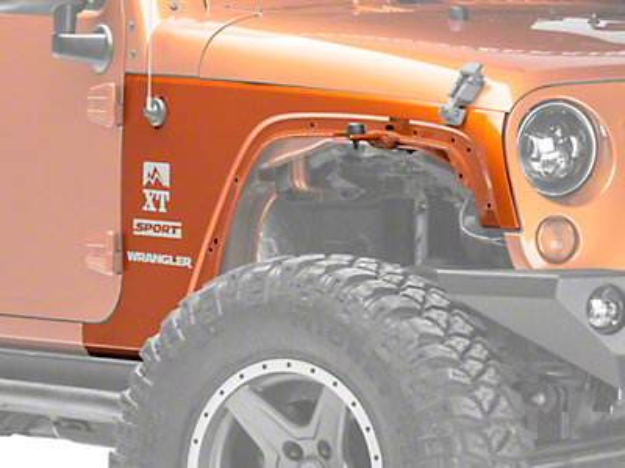 Omix-ADA Fender Right Side (07-18 Jeep Wrangler JK)