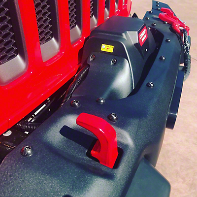 ATP Winch Plate System (2018 Jeep Wrangler JL Rubicon)