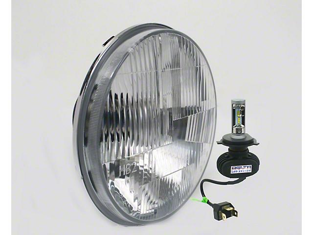 Delta LED Headlights with Defrost Element (07-18 Jeep Wrangler JK)