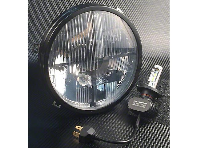 Delta Bolt Quad-Bar LED Headlights with COB Green Mood Lights (07-18 Jeep Wrangler JK)