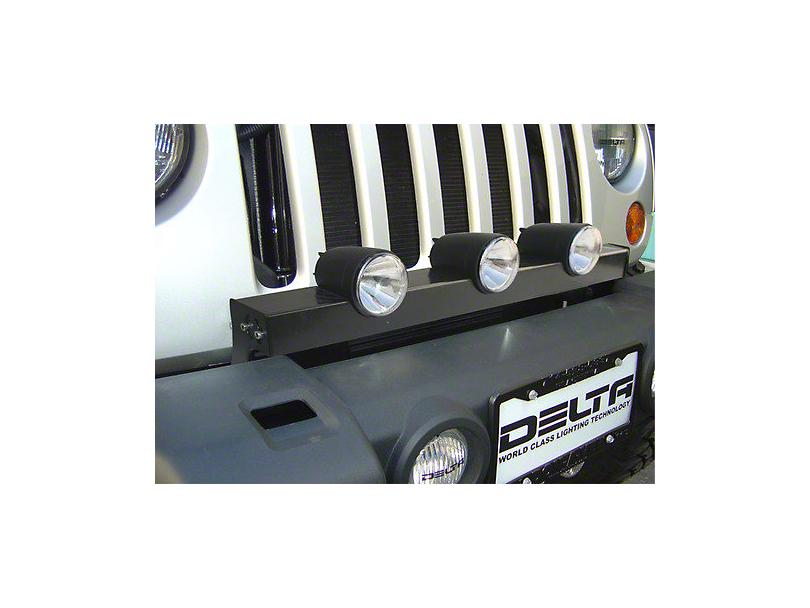 Delta Bullet LED Light Bar (07-18 Jeep Wrangler JK)