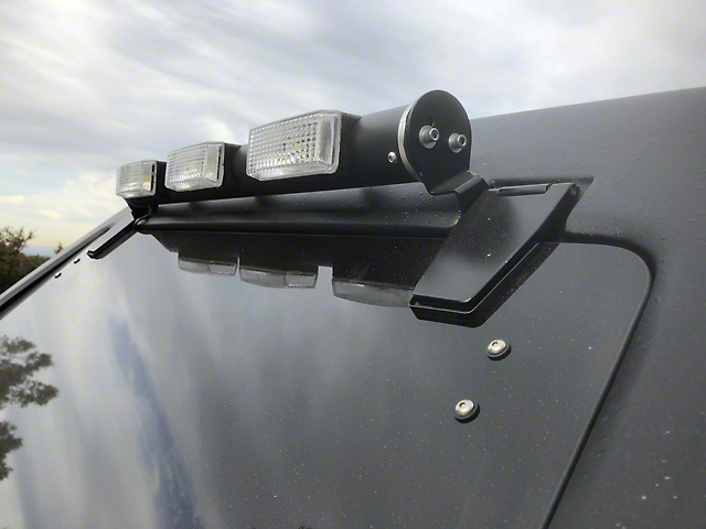 Delta Tubular Reverse Light Bar w/ Stop Light (07-18 Jeep Wrangler JK)