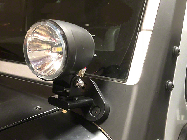 Delta 300 Windshield Mount LED Light Kit (07-18 Jeep Wrangler JK)