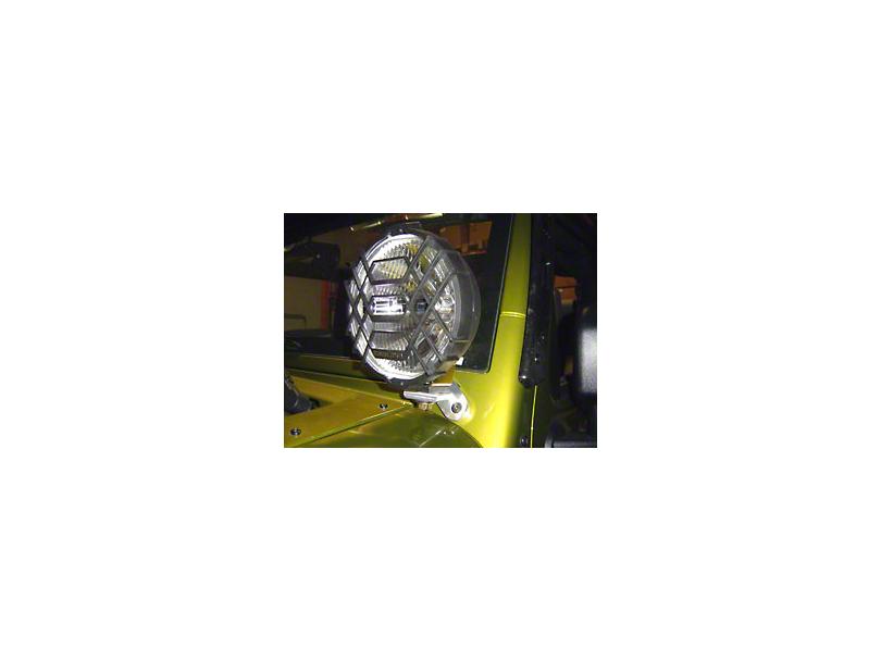 Delta 600 Windshield Mount LED Light Kit (07-18 Jeep Wrangler JK)