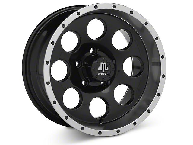 Mammoth 8 Beadlock Style Black 15x8 Wheel & Mickey Thompson Deegan 38 31x10.50R15 Tire Kit (87-06 Jeep Wrangler YJ & TJ)