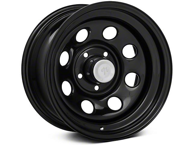 Mammoth 8 Black Steel 15x8 Wheel & Mickey Thompson Deegan 38 31x10.50R15 Tire Kit (87-06 Jeep Wrangler YJ & TJ)