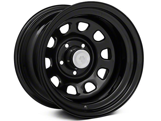 Mammoth D Window Black Steel 15x10 Wheel & Mickey Thompson Deegan 38 31x10.50R15 Tire Kit (87-06 Jeep Wrangler YJ & TJ)