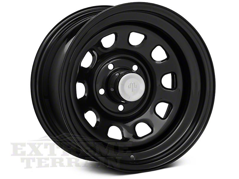 Mammoth D Window Black Steel 15x8 Wheel & Mickey Thompson Baja MTZP3 31x10.50R15 Tire Kit (87-06 Jeep Wrangler YJ & TJ)