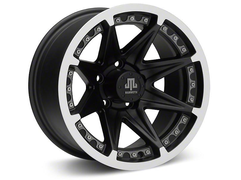 Mammoth Type 88 Black 15x8 Wheel & Mickey Thompson Baja MTZP3 31x10.50R15 Tire Kit (87-06 Jeep Wrangler YJ & TJ)