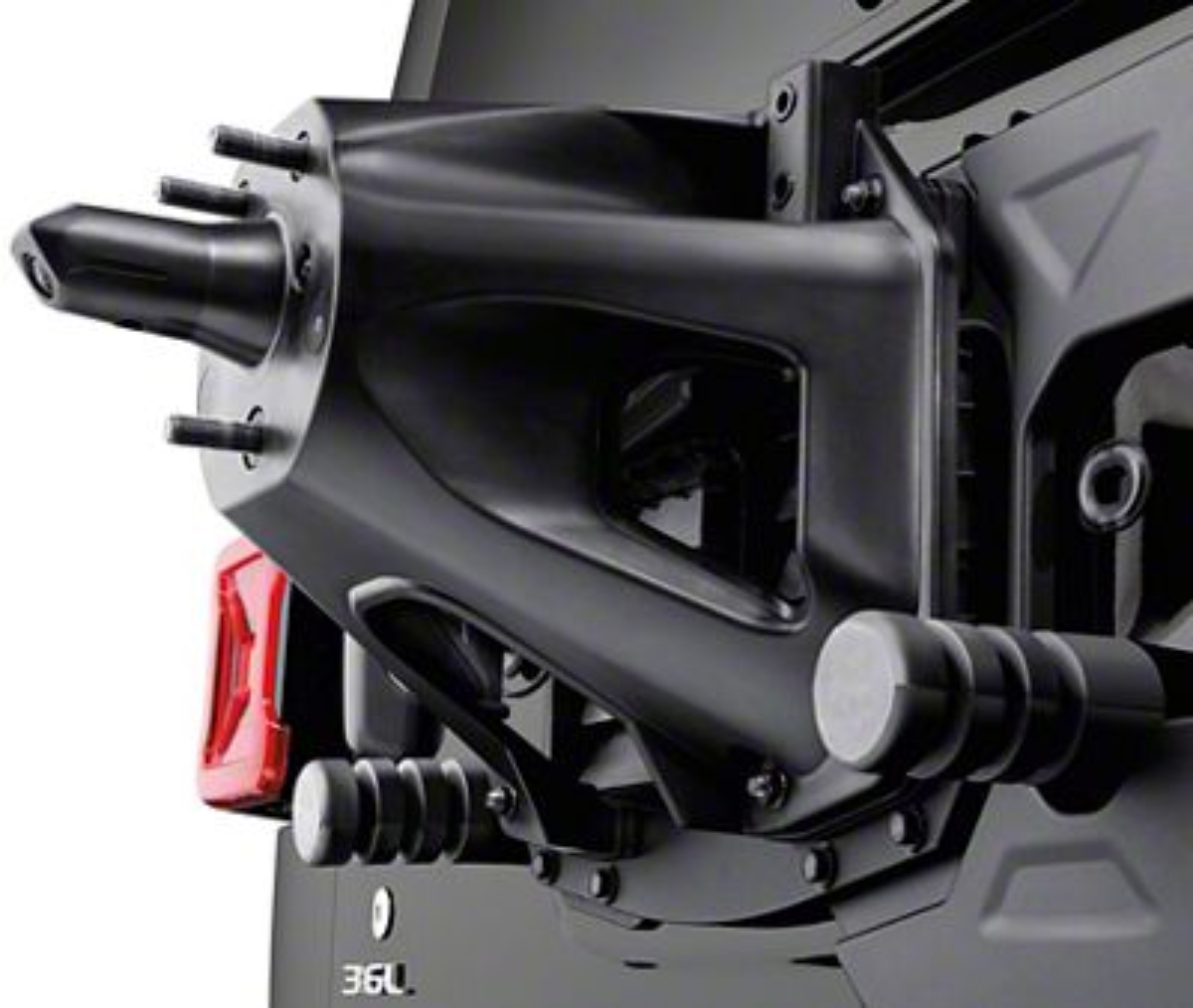 Mopar Oversize Spare Tire Carrier Mounting Bracket Kit (18-19 Jeep Wrangler JL)