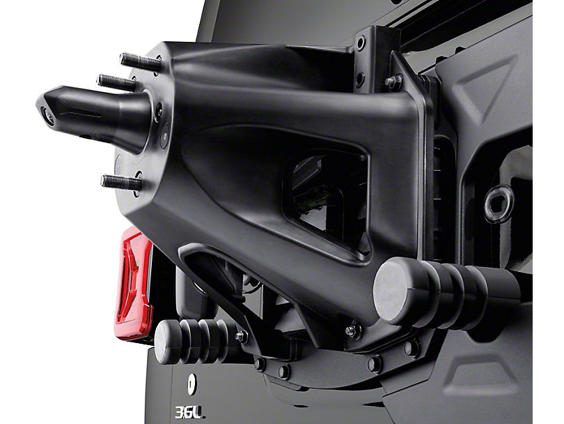 Mopar Oversize Spare Tire Carrier Mounting Bracket Kit (18-20 Jeep Wrangler JL)