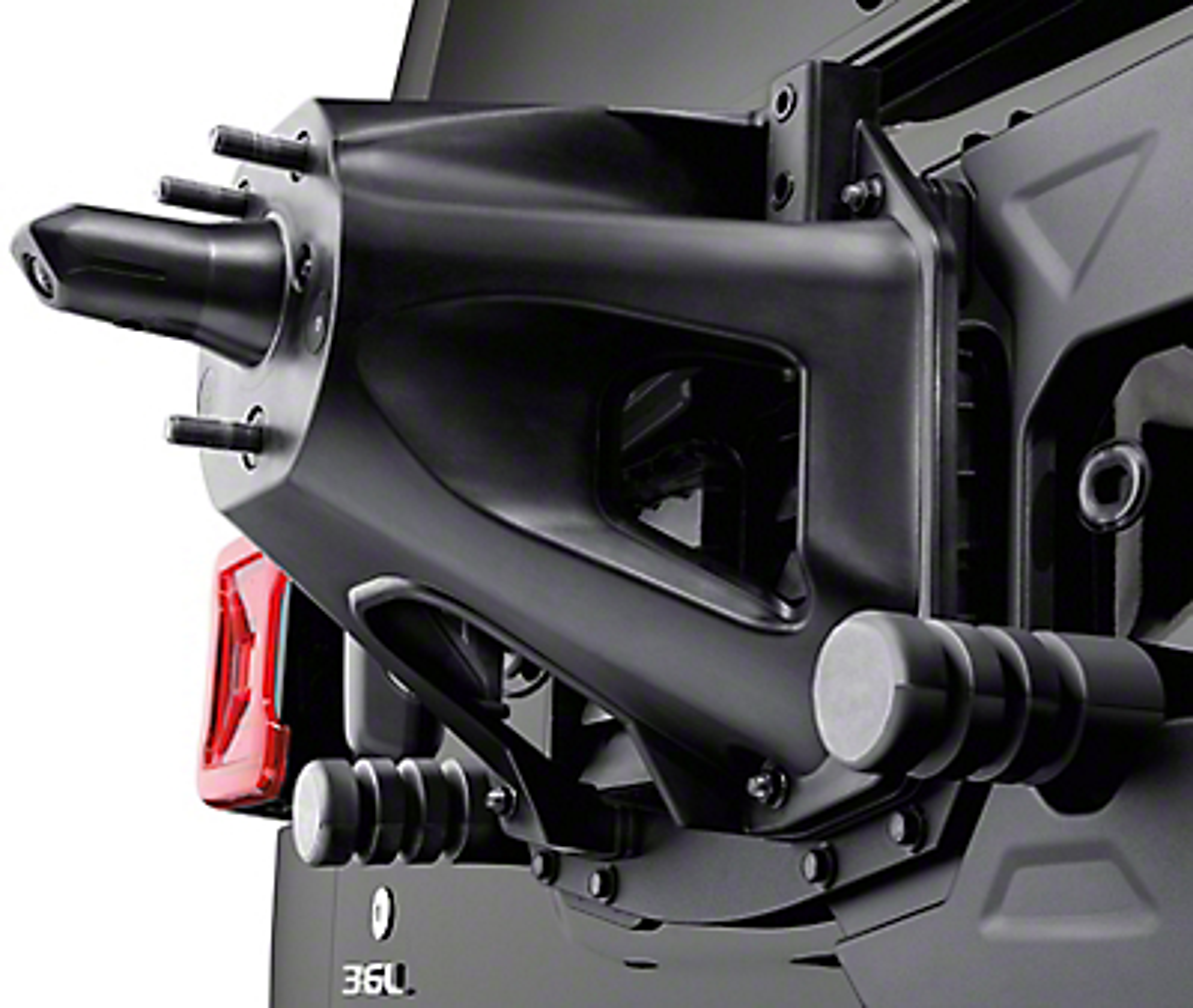 Mopar Oversize Spare Tire Carrier Mounting Bracket Kit (2018 Jeep Wrangler JL)