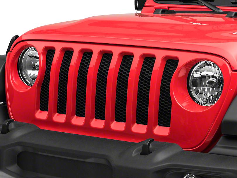 Mopar Replacement Grille Assembly (18-19 Jeep Wrangler JL)