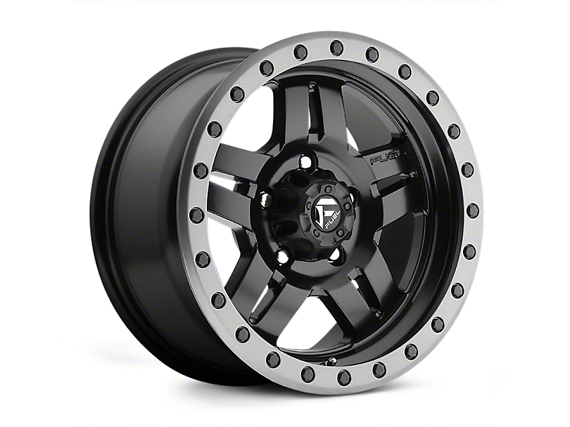 Fuel Wheels Anza Matte Black Wheel; 20x9 (07-18 Jeep Wrangler JK)