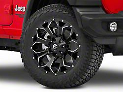 Fuel Wheels Assault Gloss Black Milled Wheel; 20x9 (18-20 Jeep Wrangler JL)