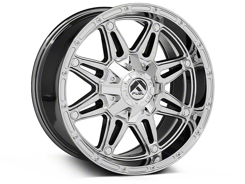 Fuel Wheels Hostage Chrome Wheel; 18x12 (07-18 Jeep Wrangler JK)