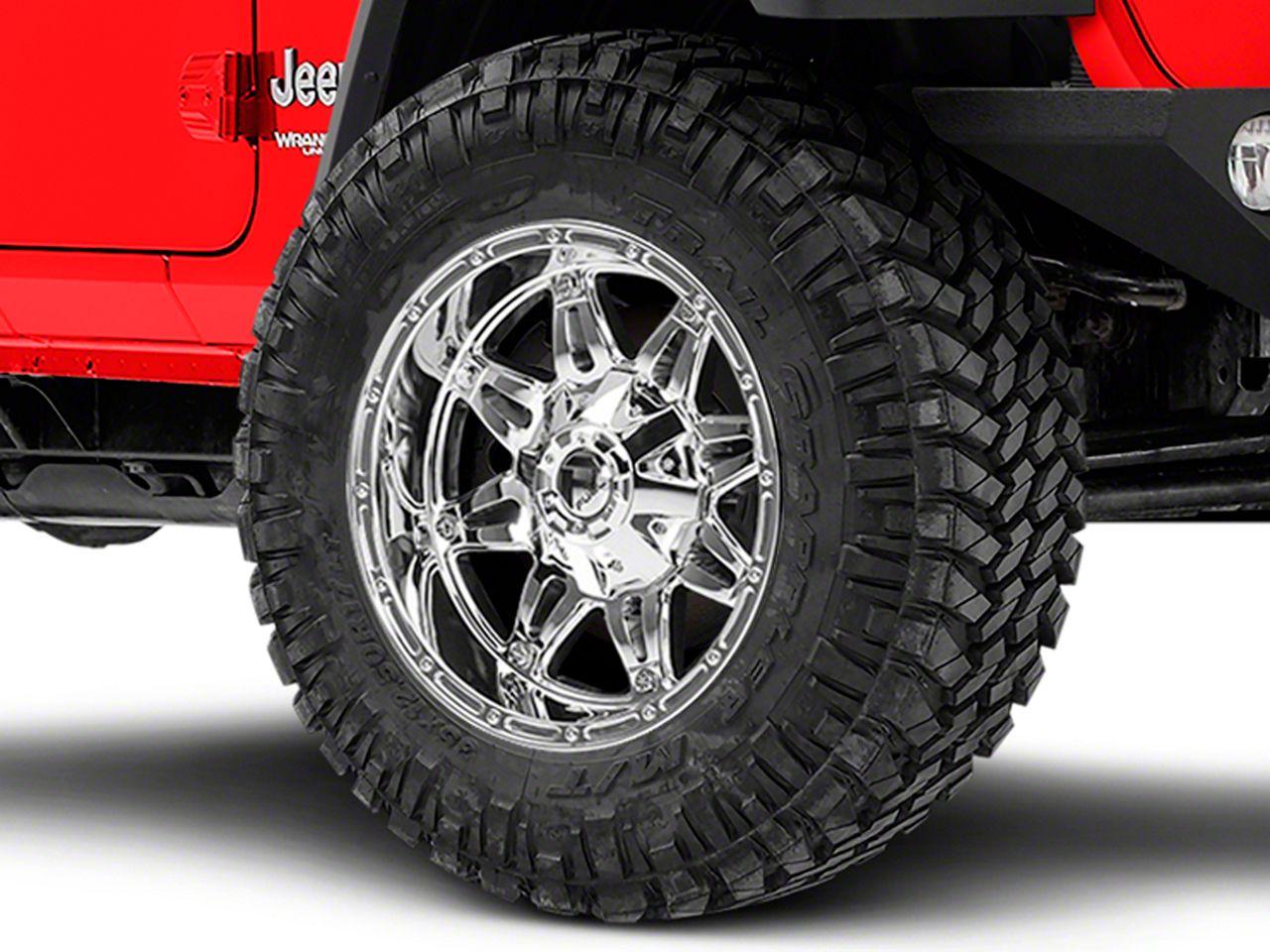 Wheels Chrome 20x10 Fuel Offroad Wheels Hostage 8x170-24 Offset ...