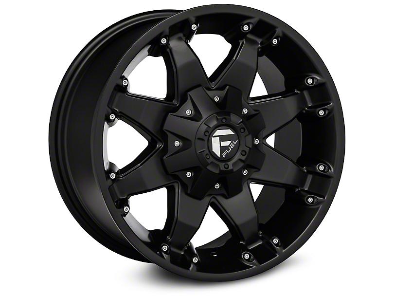 Fuel Wheels Octane Matte Black Wheel - 20x12 (07-18 Jeep Wrangler JK)