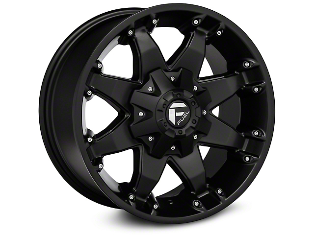 Fuel Wheels Octane Matte Black Wheel; 20x12 (07-18 Jeep Wrangler JK)