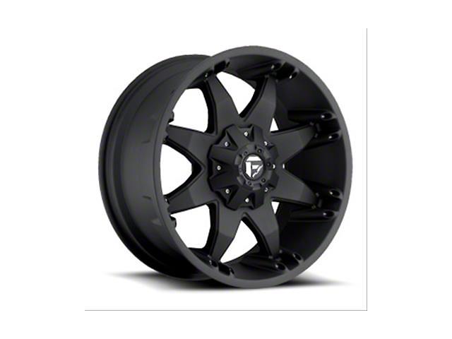 Fuel Wheels Octane Matte Black Wheel; 20x12 (18-21 Jeep Wrangler JL)