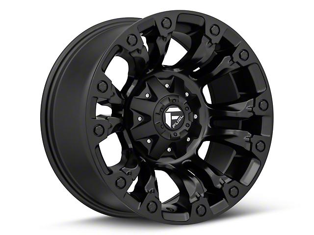 Fuel Wheels Vapor Matte Black Wheel; 18x9 (18-20 Jeep Wrangler JL)