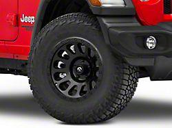 Fuel Wheels Vector Matte Black Wheel; 17x9 (18-21 Jeep Wrangler JL)