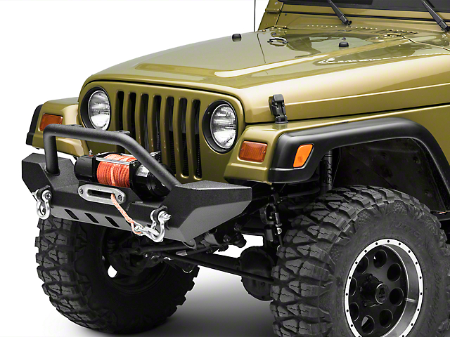Barricade Adventure HD Front Bumper with D-Rings (87-06 Jeep Wrangler YJ & TJ)