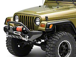 Barricade Adventure HD Bumper w/ D-Rings (87-06 Jeep Wrangler TJ)
