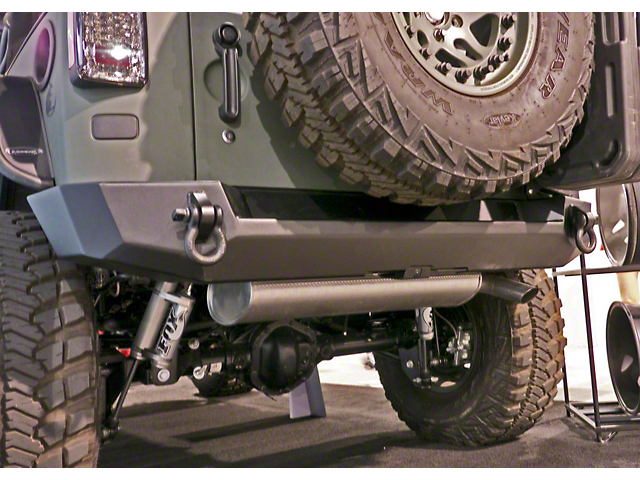 Expedition One Core Series Rear Bumper - Textured Black (07-18 Jeep Wrangler JK)