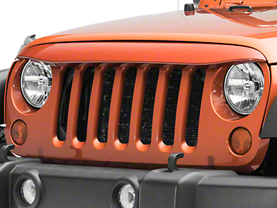 Rugged Ridge NightHawk Light Brow - Pre-Painted (07-18 Jeep Wrangler JK)
