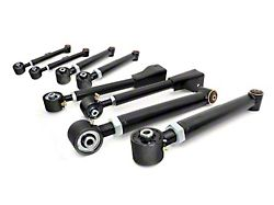 Rough Country Adjustable Front & Rear Control Arms for 0-6 in. Lift (97-06 Jeep Wrangler TJ)