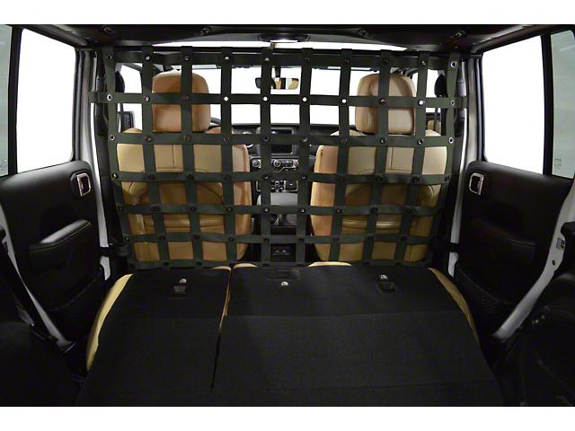 Dirty Dog 4x4 Cargo/Pet Divider - Olive Drab (18-20 Jeep Wrangler JL 4 Door)