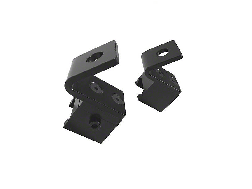 DV8 Offroad Pod Style Light Mount for Rail Mount System (07-18 Jeep Wrangler JK)