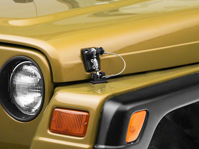 Drake Off Road Locking Hood Hold Downs (97-06 Jeep Wrangler TJ)
