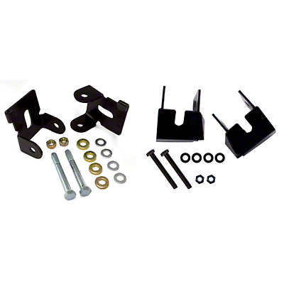 Rugged Ridge Lower Control Arm Skidplate Kit (07-18 Wrangler JK)