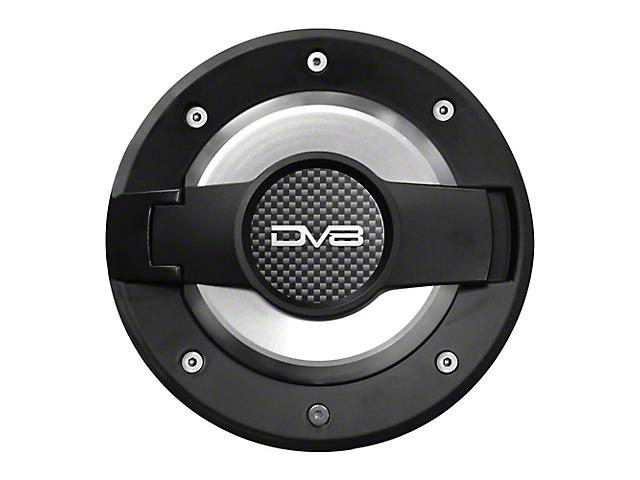 Drake Off Road Fuel Door - Black (97-06 Jeep Wrangler TJ)