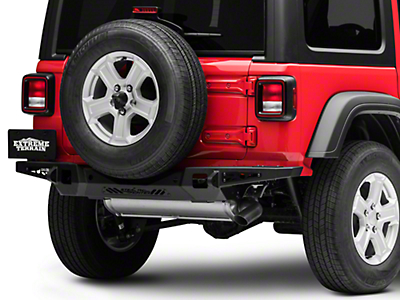 Addictive Desert Designs Stealth Fighter Rear Bumper - Pre-Drilled for Backup Sensors (2018 Jeep Wrangler JL)