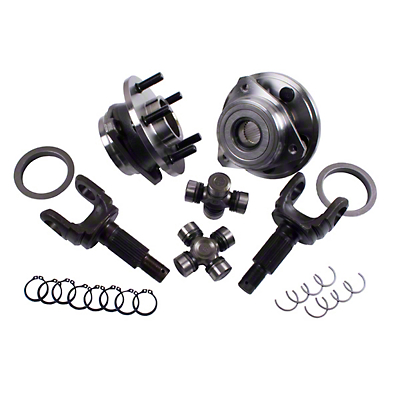Alloy USA Front Axle Grande 30 Spline Outer/Unit Bearing Upgrade Kit (87-06 Wrangler YJ & TJ)