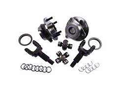 Alloy USA Wrangler Manual Locking Hub Complete Conversion