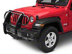 RedRock 4x4 Grille Guard - Gloss Black (18-20 Jeep Wrangler JL)