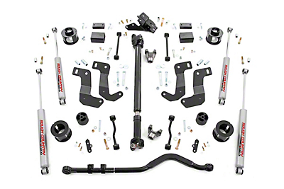 Rough Country 3.5 in. Suspension Lift Kit - Stage 2 (2018 Jeep Wrangler JL, Excluding Rubicon)