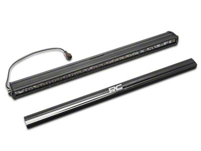 Rough Country 30 in. Black Series LED Light Bar w/ Hood Mounting Brackets (18-19 Jeep Wrangler JL)