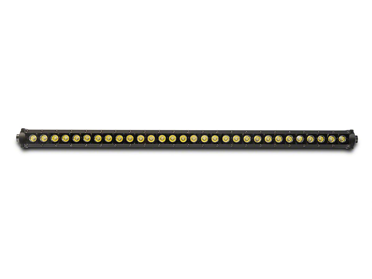 Rough Country 30 in  Black Series LED Light Bar w/ Hood Mounting Brackets  (18-20 Jeep Wrangler JL)
