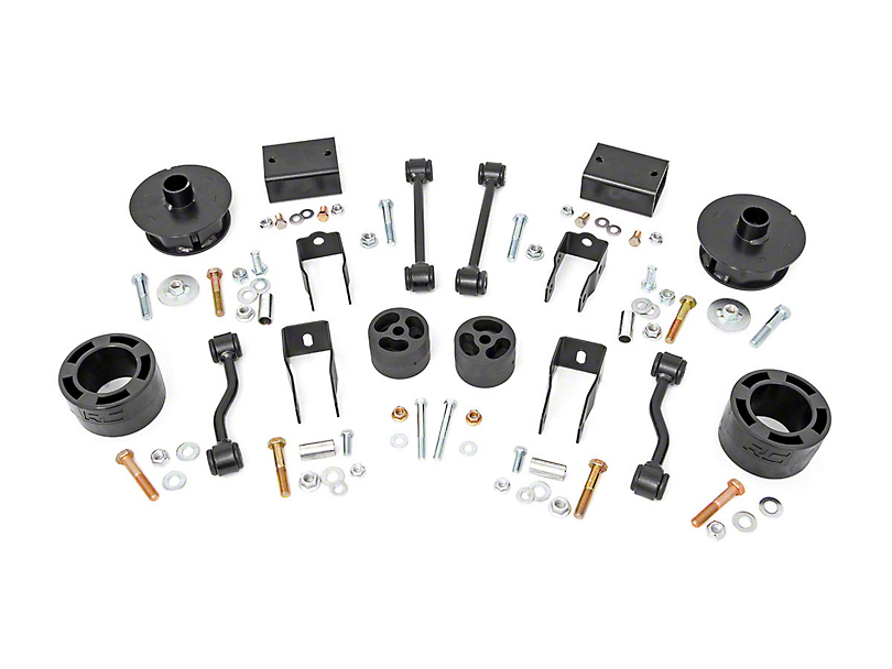 Rough Country 2.5 in. Suspension Lift Kit (18-19 Jeep Wrangler JL)