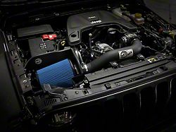 AFE Magnum FORCE Stage 2 XP Cold Air Intake with Pro 5R Oiled Filter; Black (18-21 3.6L Jeep Wrangler JL)